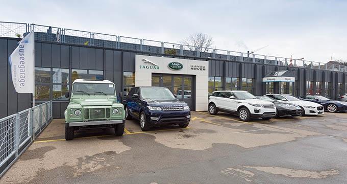 Land rover ausee garage ag au w denswil ber uns for Land rover tarbes garage moderne